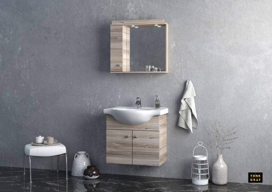 Plastica Hellas bathroom furniture 3D design & visualisation