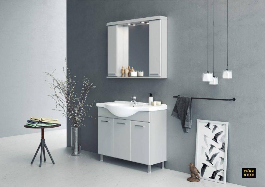 Plastica Hellas έπιπλα μπάνιου τρισδιάστατος σχεδιασμός & φωτορεαλισμός