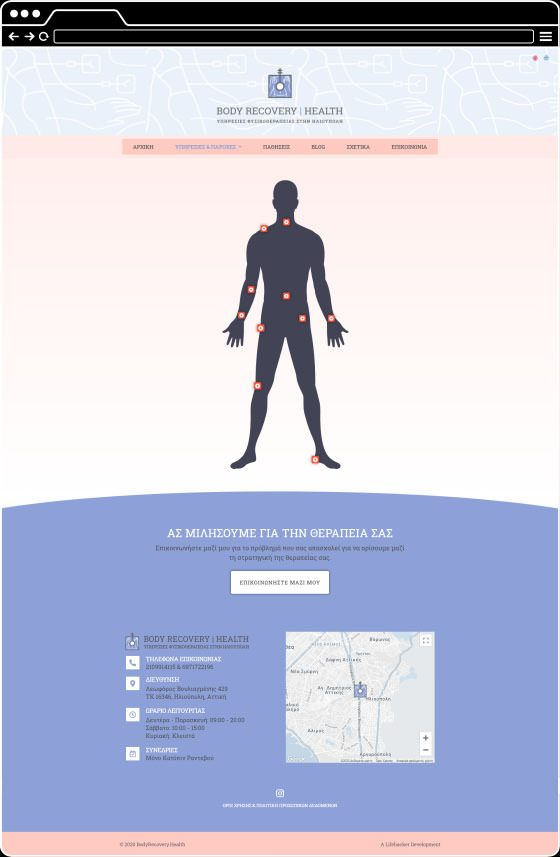 BODYRECOVERY.HEALTH Physical Therapy Services in Ilioupoli, Athens, Greece