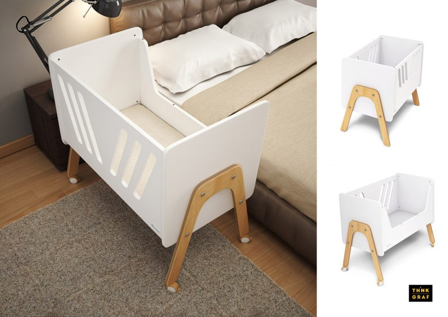 Casababy baby children furniture 3D design & visualisation