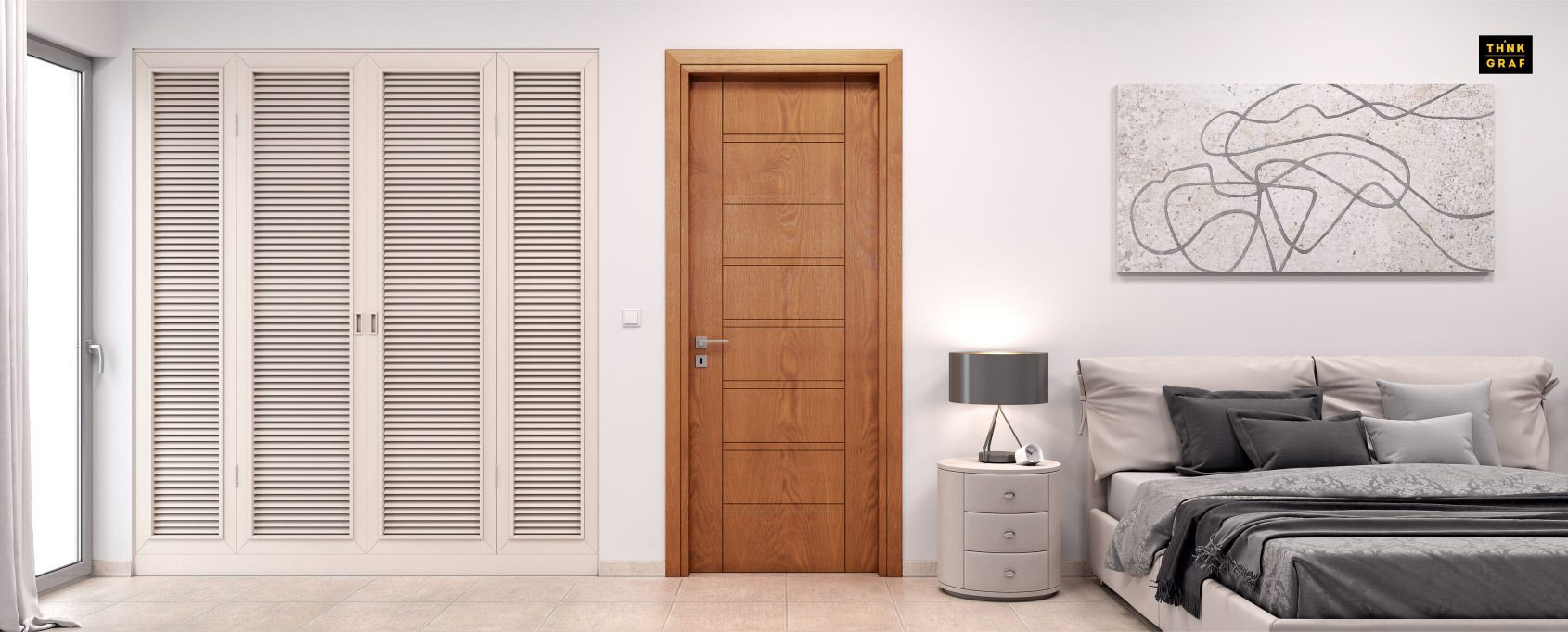 Coverdoors πόρτες τρισδιάστατος σχεδιασμός & φωτορεαλισμός