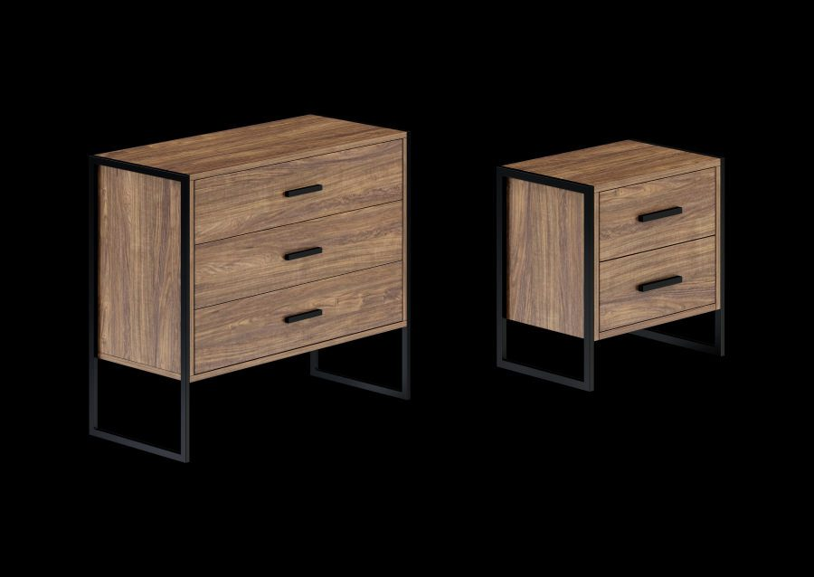 Kouppas metal furniture & mattresses 3D design & visualisation