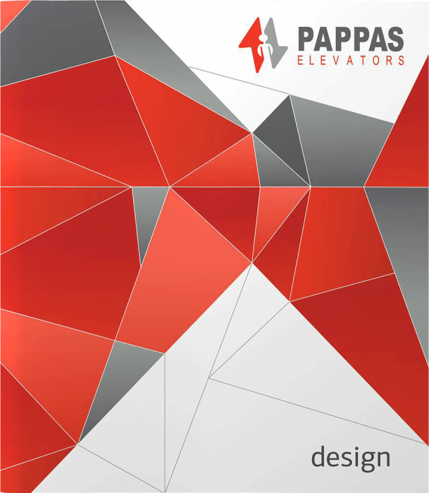 Pappas elevators graphic design