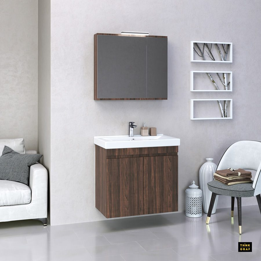Probagno bathroom furniture 3D design & visualisation