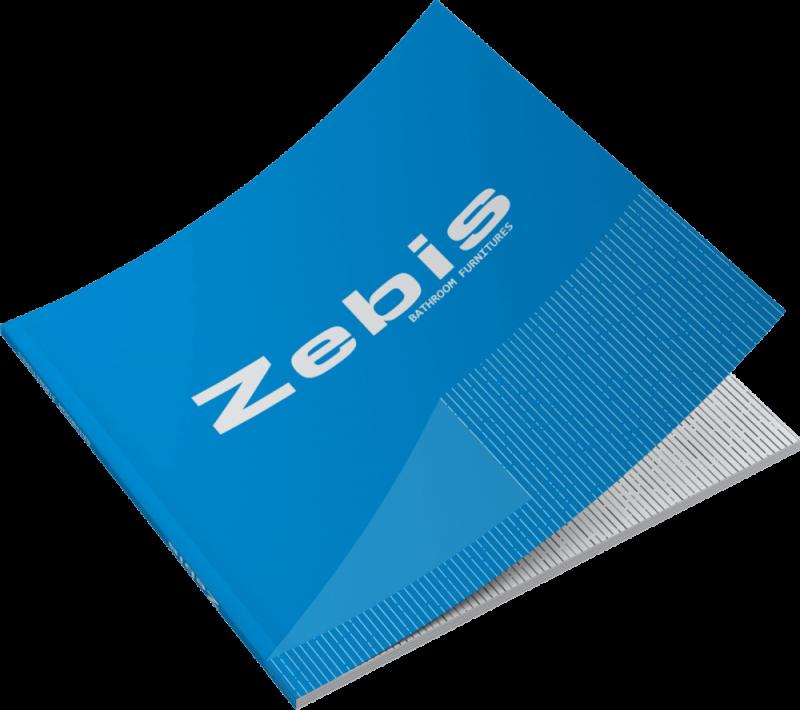Zebis έπιπλα μπάνιου γραφιστικός σχεδιασμός