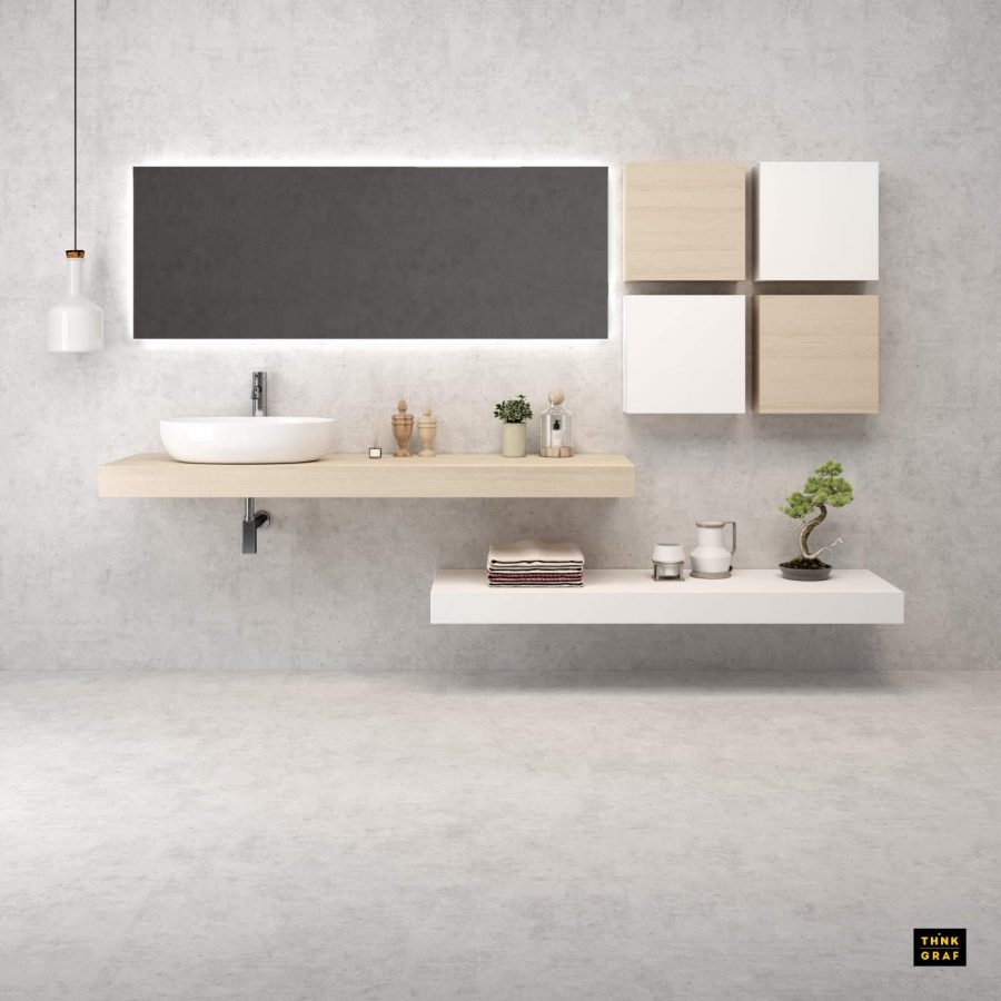Zebis bathroom furniture 3D design & visualisation